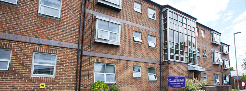 St Mark's Court Sheltered Housing Gloucester Charities Trust